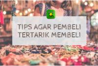 tips agar pembeli tertarik ala diputra